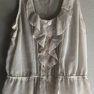 Light and airy sleeveless blouse